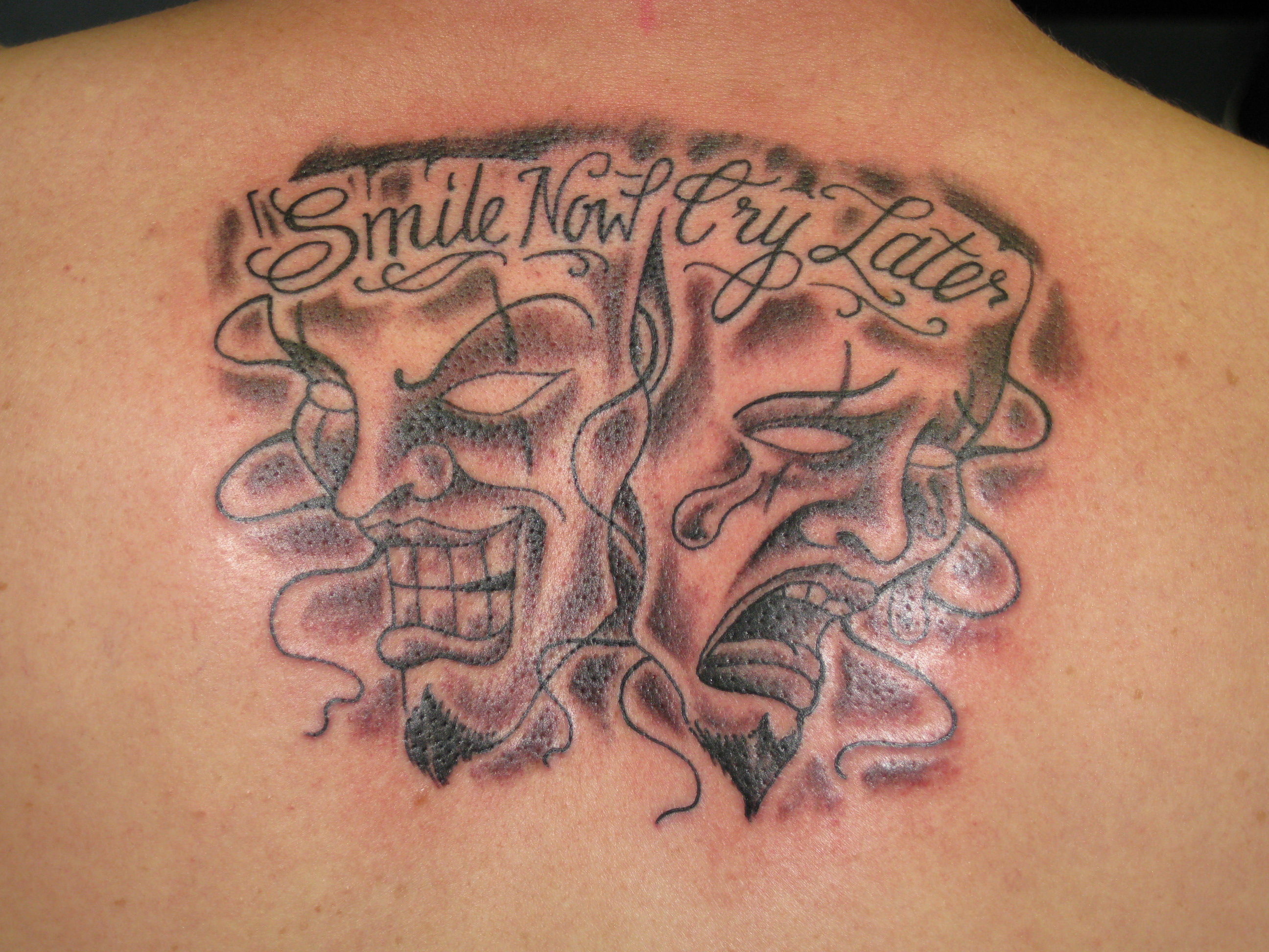 Irish Street Tattoo Smile Now Cry Later Irish St Tattoo
