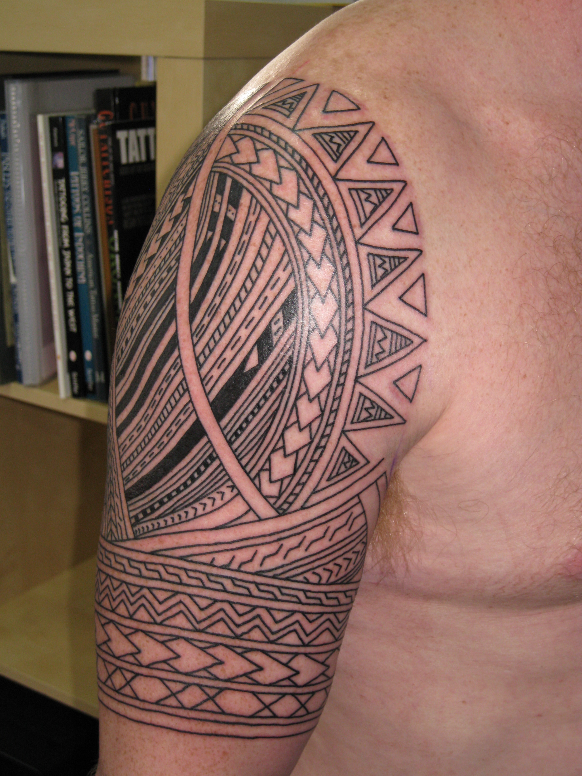 Samoan Half Sleeve Tattoos