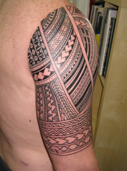 irish street tattoo samoan based half sleeve irish st tattoo. Black Bedroom Furniture Sets. Home Design Ideas