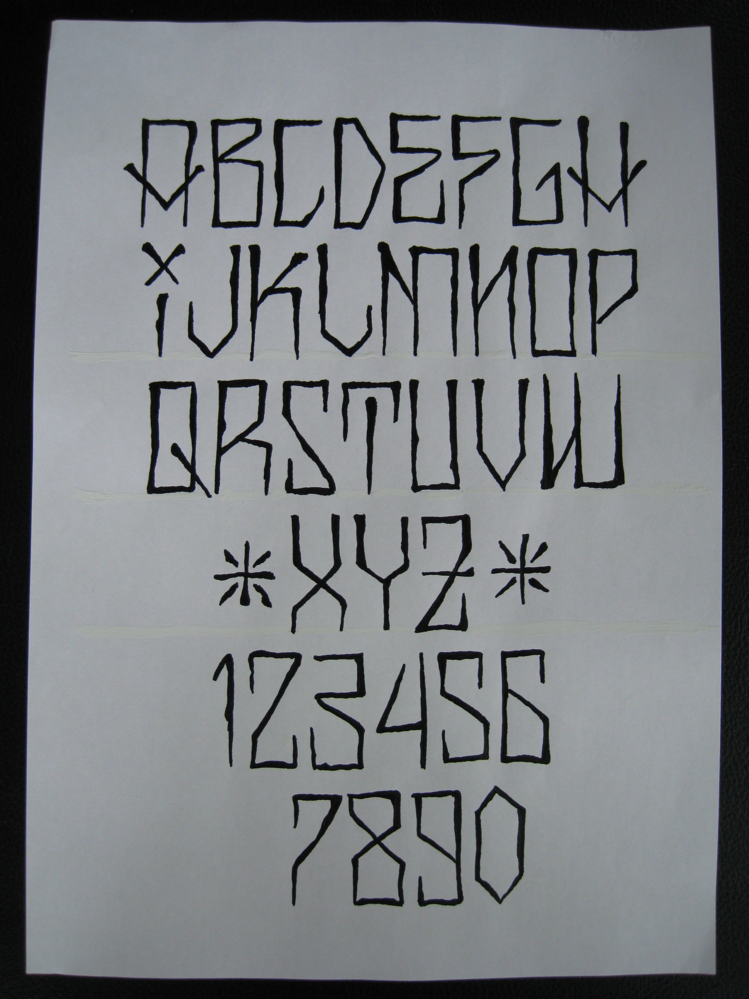 Tattoo Fonts: IRISH ST TATTOO