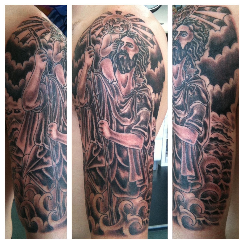 Religious: IRISH ST TATTOO