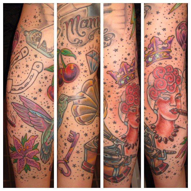 Irish Street Tattoo Old school - 106.9KB