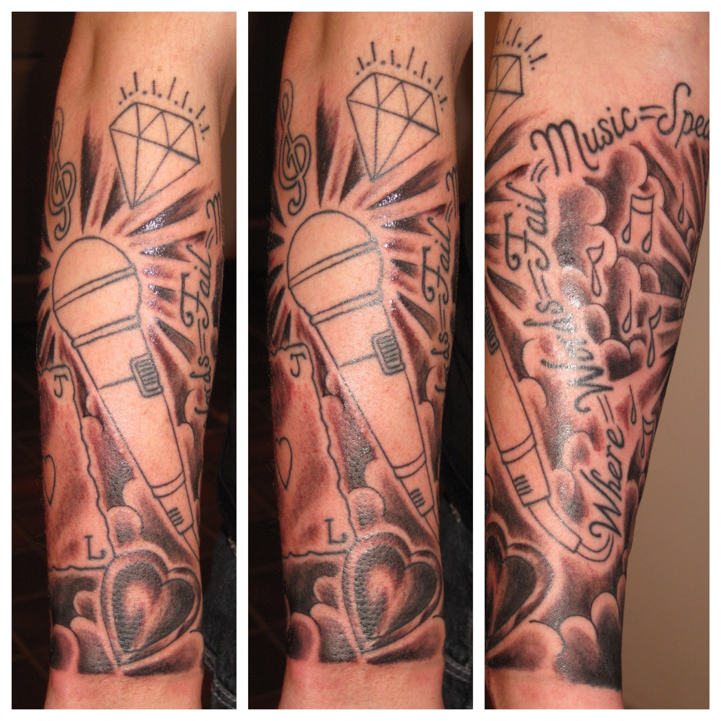 Music Tattoo Sleeves