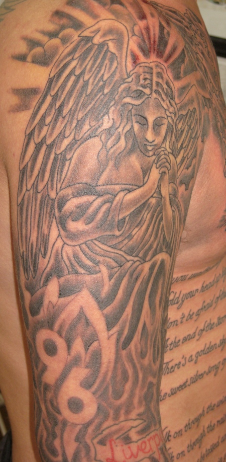liverpool 96 angel tattoo