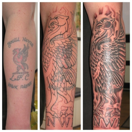 liverpool liverbird tattoo