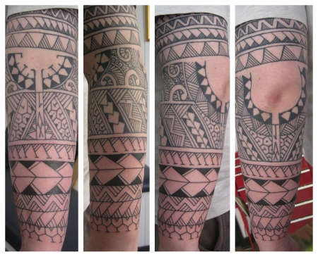 tribal arm irish street tattoo donwpatrick