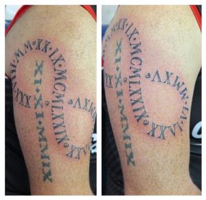 numerals infinity downpatrick